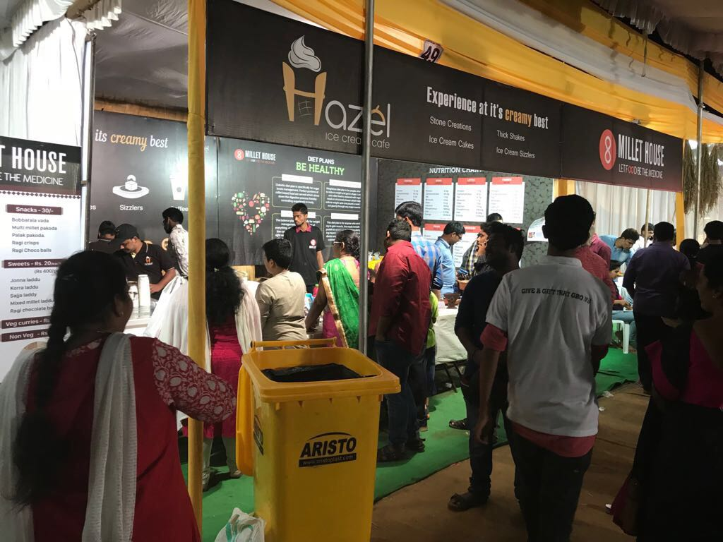 Hazel Ice Cream Stall at Vijayawada (1)