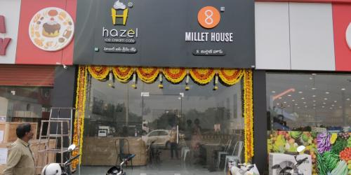 Hazel Ice Cream Outlet at Mangalagiri